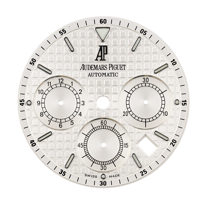 Audemars Piguet Royal Oak 41mm White Méga Tapisserie Original Factory Dial
