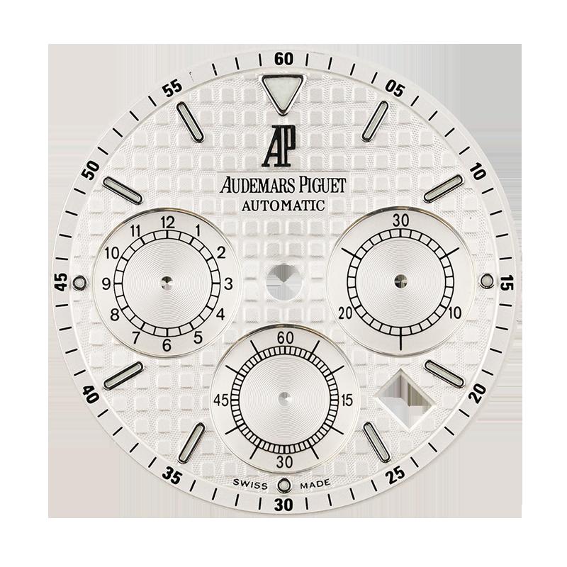 Audemars Piguet Royal Oak 41mm White Méga Tapisserie Original Factory Dial