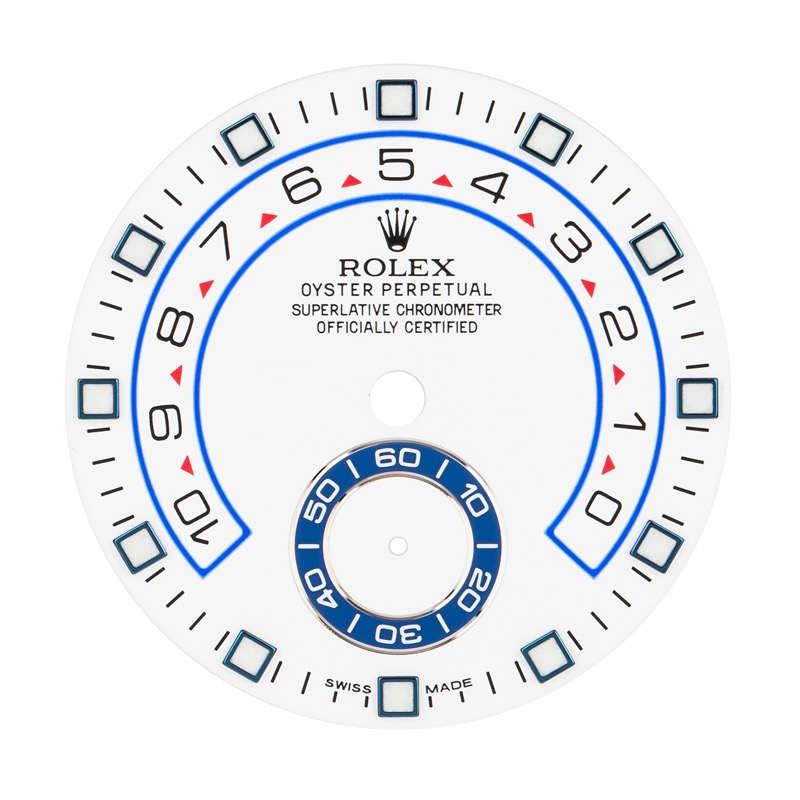 Factory Rolex Yacht-Master II White Dial
