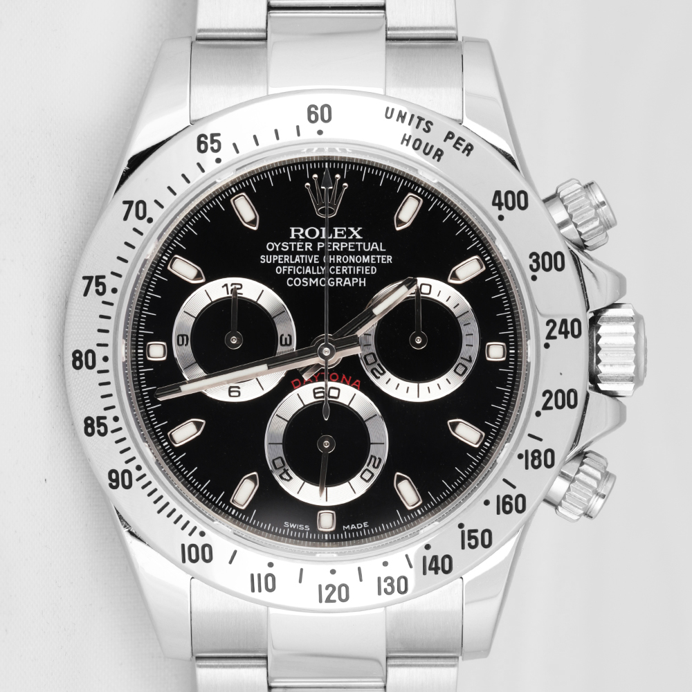Rolex 116520 Daytona Steel Black Dial