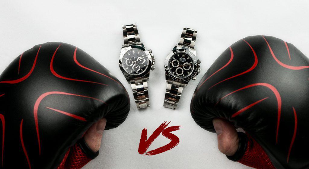 Battle of the Rolex Daytonas : 116520 vs 116500LN | Time 4 Diamonds