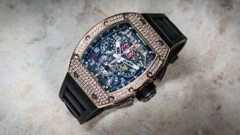 A racing machine on your wrist - the Richard Mille RM-011 | Time 4 Diamonds