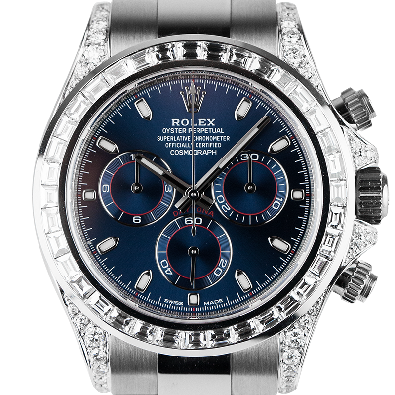 Rolex Daytona White Gold Diamond Set - Time 4 Diamonds - Dial