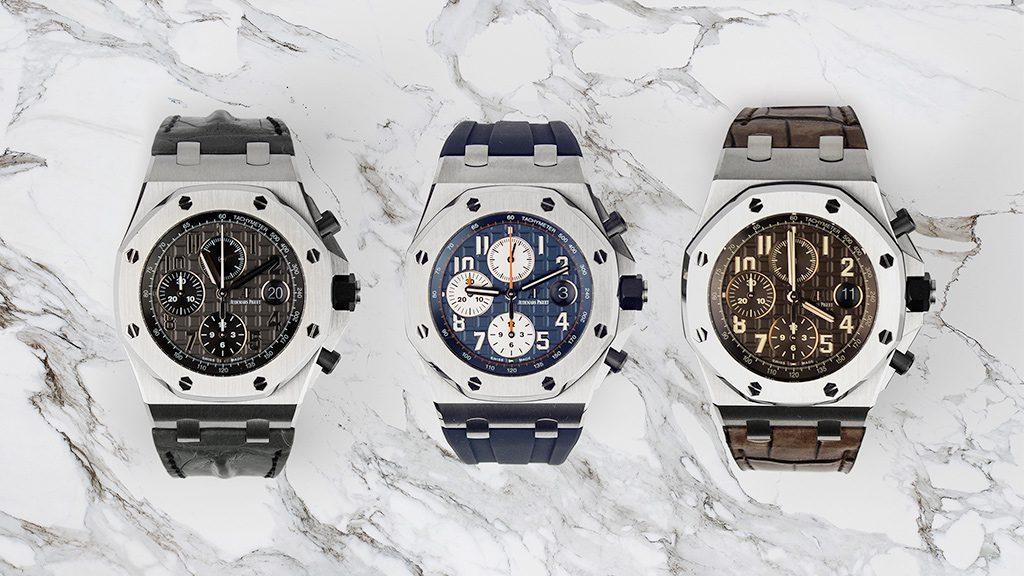 A look at the Audemars Piguet Royal Oak Offshore Series | Time 4 Diamonds