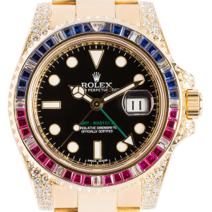 Rolex GMT Master II 116718LN - Time 4 Diamonds