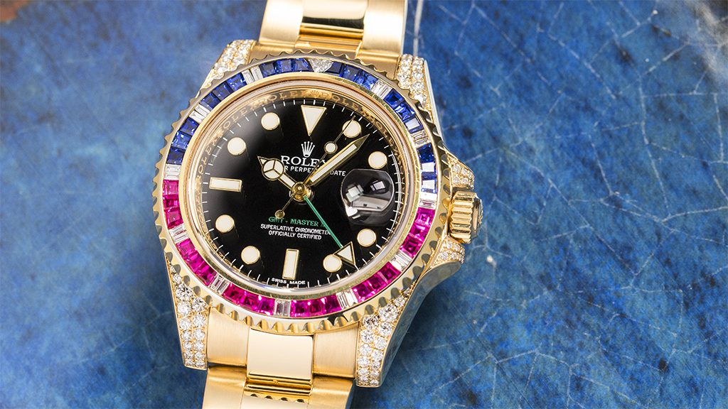 Beauty and Functionality - the Rolex GMT Master II Custom | Time 4 Diamonds
