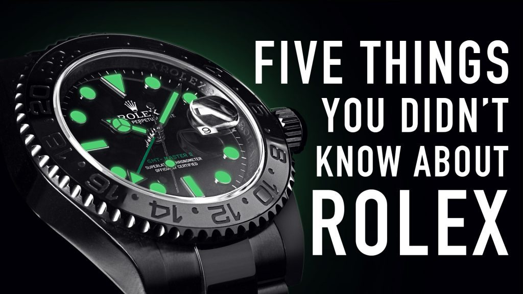 5 Things You Didn't Know About Rolex | Time 4 Diamonds