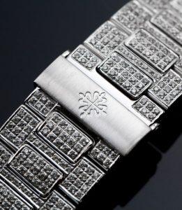 Patek Philippe 5711 - Custom Diamond Set - Time 4 Diamonds