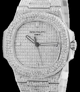 Patek Philippe 5711 - Custom - Time 4 Diamonds