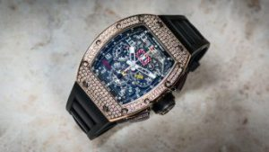 A racing machine on your wrist - the Richard Mille RM-011   Time 4 Diamonds