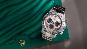 Functionality, elegance, style and swank - the Rolex Daytona 116509 Custom   Time 4 Diamonds