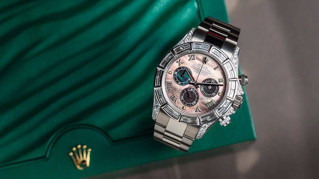 Functionality, elegance, style and swank - the Rolex Daytona 116509 Custom | Time 4 Diamonds