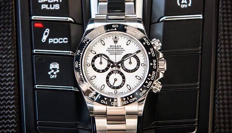 The ceramic and steel Daytona is one of the best luxury watches to invest in
