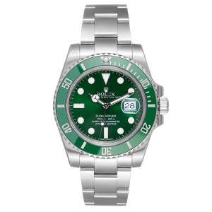 rolex wach green 2