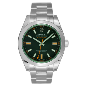 rolex watch green