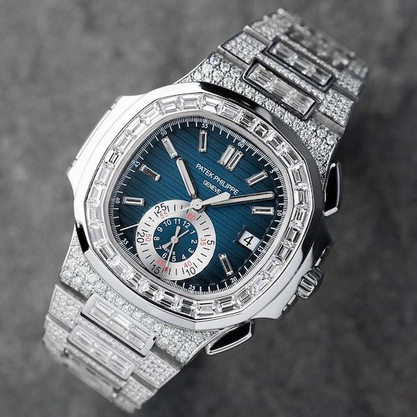 Custom Diamond Set Patek Philippe 5980